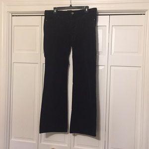 EUC Gap Velvet Pants